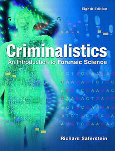 Criminalistics: An Introduction to Forensic Science (Pie), Good Condition Book,