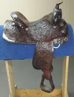 Beautiful, Quality, Circle Y Western Saddle