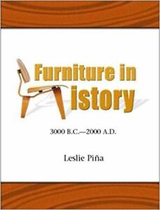 Furniture in History 3000 BC  2000 AD  1st Edition
