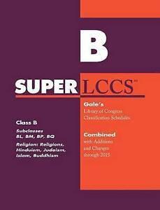 SUPERLCCS: Class B: Subclasses Bl, Bm, BP, Bq: Religion (General), Hinduism,...