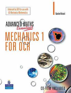 A Level Maths Essentials Mechanics 1 for OCR Book  and CD-ROM, Karim Hirani