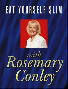 """AS NEW"" Eat Yourself Slim, Conley, Rosemary, Book"