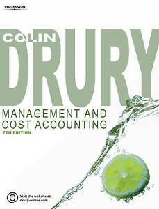 Management and Cost AccountingExLibrary - Dunfermline, United Kingdom - Management and Cost AccountingExLibrary - Dunfermline, United Kingdom