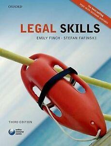 Legal Skills, Emily Finch, Stefan Fafinski, Good Condition Book