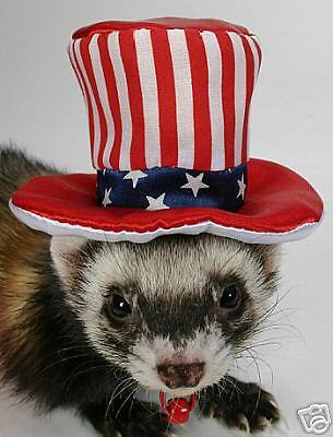 Marshall Ferret Uncle Sam Hat Party Toy