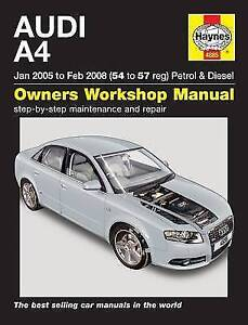 Audi A4 Service and Repair Manual: 05-08 by Haynes Publishing Group (Paperback,
