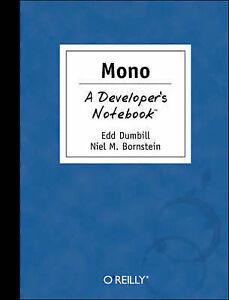 Mono-A-Developers-Notebook-Niel-M-Bornstein-Edd-Dumbill-Used-Good-Book