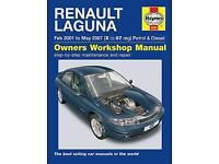 Renault Laguna Haynes manual