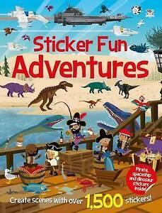 Sticker FunAdventures (Sticker Fun Bumper Books),,New Book mon0000121963