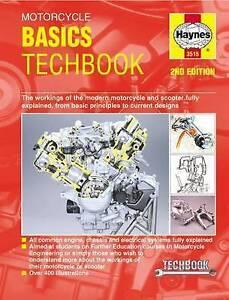 NEW Motorcycle Basics Techbook by Editors of Haynes Manuals