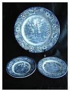 Liberty Blue Dishes