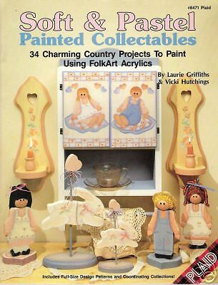 SOFT & PASTEL PAINTED COLLECTABLES - CRAFT BOOK