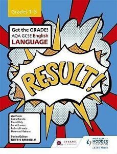 AQA-GCSE-English-Language-Grades-1-5-Student-039-s-Book-Good-Condition-Book-Brindl