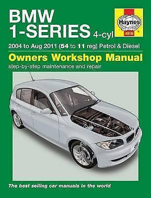 Haynes Manual BMW 1 Series 04-11 1.6 2.0 Petrol 2.0 Diesel Workshop Manual