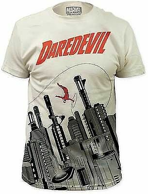 Daredevil Costume Symbol Gun City Hells Kitchen Marvel Comics T Tee Shirt S-2Xl - Marvel Daredevil Costume