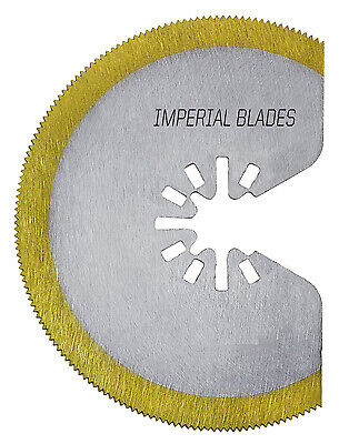 Oscillating Tool Blade Segmented Hss Tin Storm 3-18-in.