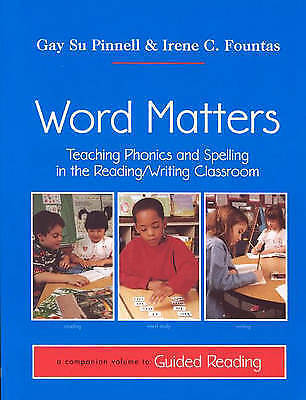 The Fountas Pinnell Comprehensive Phonics Spelling And Word