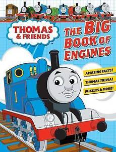 The Big Book of Engines By Thomas & Friends Hardcover NEW, Free Shipping