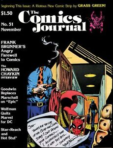 The Comics Journal collection