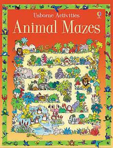 Animal Mazes (Usborne Activities), Jenny Tyler, Kim Blundell