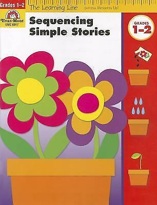 Sequencing Simple Stories, Grades 1-2 by Evan-Moor Educational Publishers