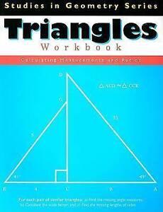 Triangles Workbook (Studies in Geometry) - Good Book Pelli Leonard, Tammy