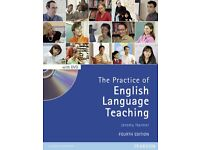 The practice of English Language Teaching. Jeremy Harmer - fourth edition