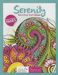 Serenity: Peaceful Patterns by Art Unplugged -Hcover