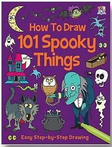 How-to-Draw-101-Spooky-Things-Very-Good-Condition-Book-Barry-Green-ISBN-97818