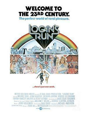 Logans Run Movie Poster 24In X 36In