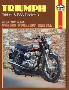Triumph-Trident-and-Bsa-Rocket-3-Owners-Workshop-Manual-No-136-by-John