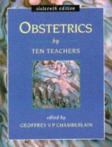 OBSTETRICS BY TEN TEACHERS 16E, , Very Good Book