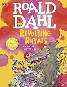 Revolting Rhymes (Bk & CD)  BOOK NEW