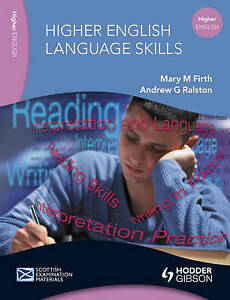English Language Skills for Higher English by Mary M Firth Andrew G - <span itemprop='availableAtOrFrom'>Cupar, United Kingdom</span> - English Language Skills for Higher English by Mary M Firth Andrew G - Cupar, United Kingdom