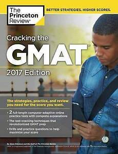 PRINCETON REVIE-CRACKING THE GMAT 2 COMPUTER 2017  BOOK NEW