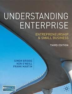 Understanding Enterprise: Entrepreneurship and Small Business, Frank Martin, Ken