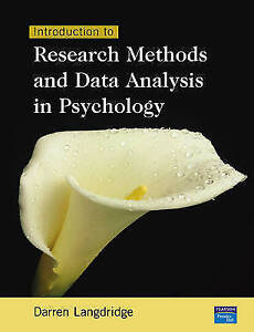 Introduction To Research Methods & Data Analysis In Psychology by Langdridge, D