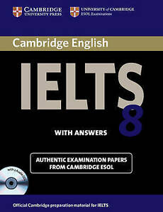 Cambridge IELTS 8 Self-study Pack (Student's Book with Answers and Audio CDs (2)