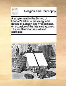 A   Supplement to the Bishop of London's Letter to the Clergy and 9781170261095