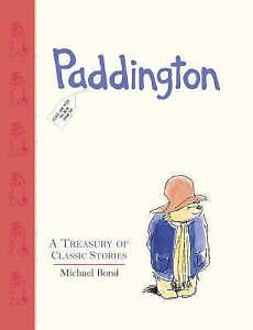 Paddington: A Treasury of Classic Stories-ExLibrary