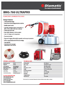 USED CONCRETE GRINDERS AND VACUUMS