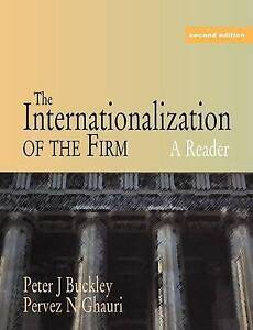 The Internationalization of the Firm: A Reader