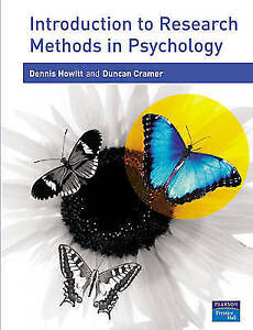 Introduction to Research Methods in Psychology by Duncan Cramer, Dennis...