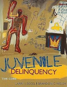 ... Delinquency : The Core by Brandon C. Welsh Larry J. Siegel 4th Edition