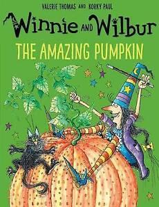 The Amazing Pumpkin (Winnie and Wilbur) by Valerie Thomas NEW Children's Book