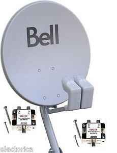 Bell satellite with lnb brand new 20$
