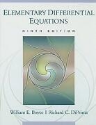 Elementary Differential Equations Boyce