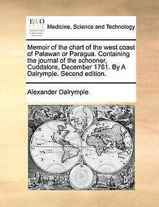 Memoir of the chart of the west coast of Palawan or Paragua. Containing the jour