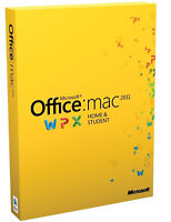 Microsoft Office for Mac, MS Office 2011 and 2016 for MAC