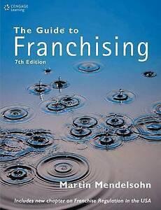 The Guide to Franchising, Good, Mendelsohn, Martin, Book